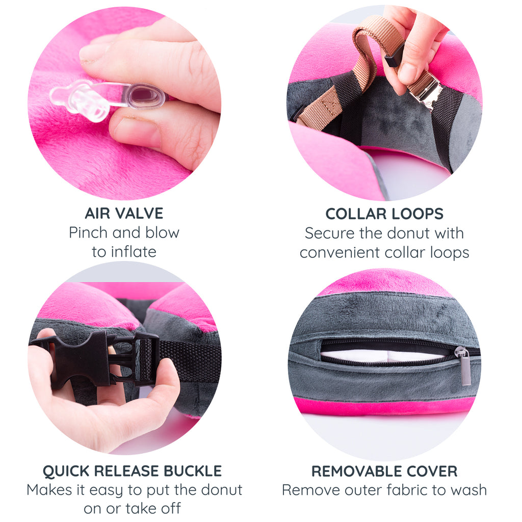 Recovery E-collar Pink