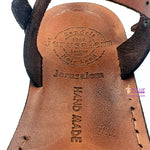 Jerusalem hand made leather sandal SAN002