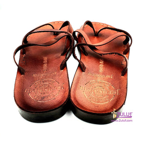 Jerusalem leather hand made unlocked sandal SAN017