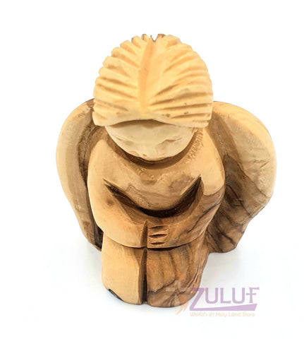 Image of Abstract Design Angel Religious Gift For Men Christian Angel Statue For Sale ANG027 - Zuluf