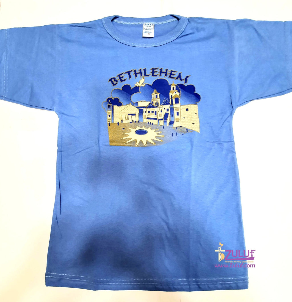 Bethlehem Nativity Men T.shirt TSH015 - Zuluf