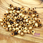 Bethlehem Olive Wood Beads 4mm rosary supplies round beads ( 60 Beads ) -BEAD001 - Zuluf