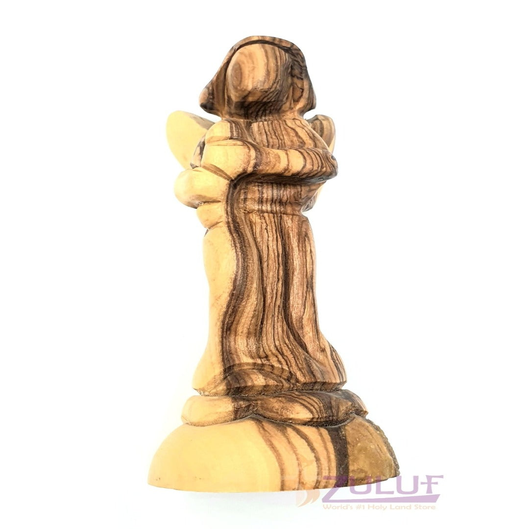 Bethlehem Olive Wood Religious Gifts For Him Angels For Christmas ANG003 - Zuluf