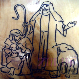 Bethlehem Shepherds Holy Land Shepherds Bible Olive Wood Magnet For Home Decor -MAG014 - Zuluf