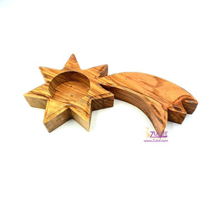 Candle Holder Wholesale From The Holy Lands By Zuluf - (CAH003) - Zuluf