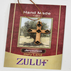 Coptic Pendant Cross Charm by Zuluf Arts - PEN101 - Zuluf