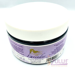 Dead Sea Body Scrub Lavender Scent DS015 - Zuluf