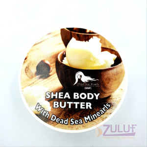 Dead Sea Minerals Shea Body Butter DS014 - Zuluf