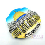 Dome Of The Rock Temple Mount Jerusalem Westren Wall Plaster Magnets Mag094 - Zuluf