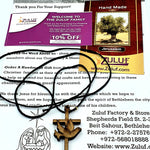 Dove Pendant Charm Olive Wood Zuluf Gifts - PEN070 - Zuluf