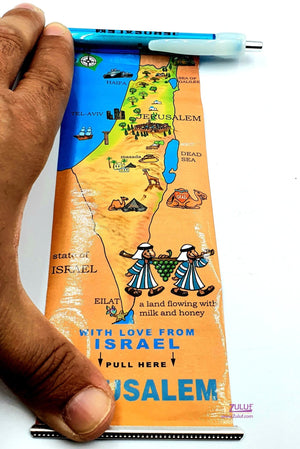 Good quality jerusalem pen with picture in side it HLG037 - Zuluf