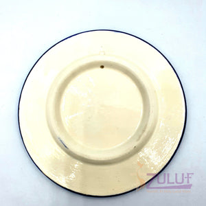 "Hand Made Small Size Ceramic Plate by Zuluf 9cm / 3.5"" - CER011 - Zuluf"