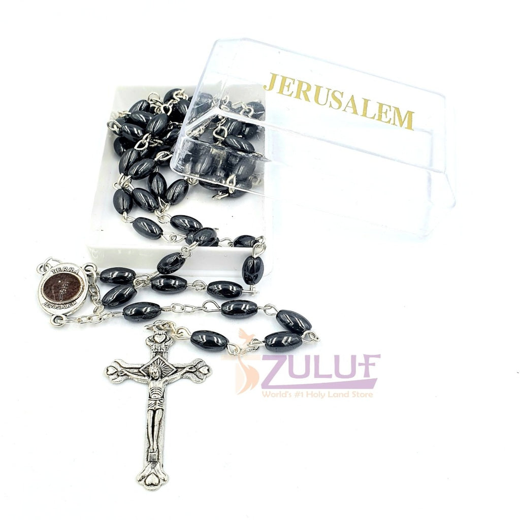 Hematite Rosary Best Rosary to buy Online - ROS028 - Zuluf