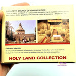 Holy Land Gift Pack - Holy Land Elements Set Olive Oil, Stones & Holy Water Religious Christian Gift Basilica of The Nativity - Zuluf