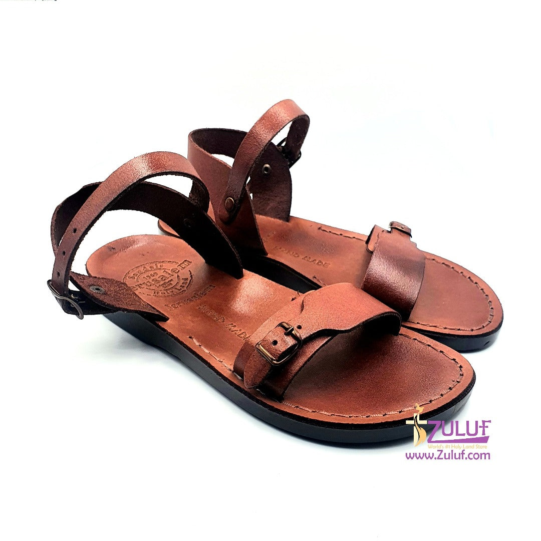 Jerusalem hand made leather sandal SAN002 - Zuluf