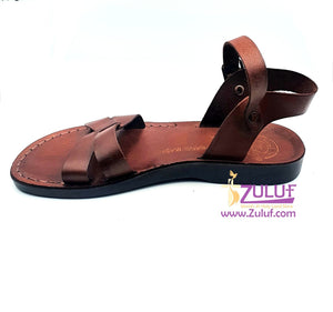 Jerusalem leather hand made sandal SAN005 - Zuluf
