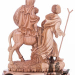 Large Flight to Egypt Nazareth Olive Wood Zuluf® - ART025 - Zuluf