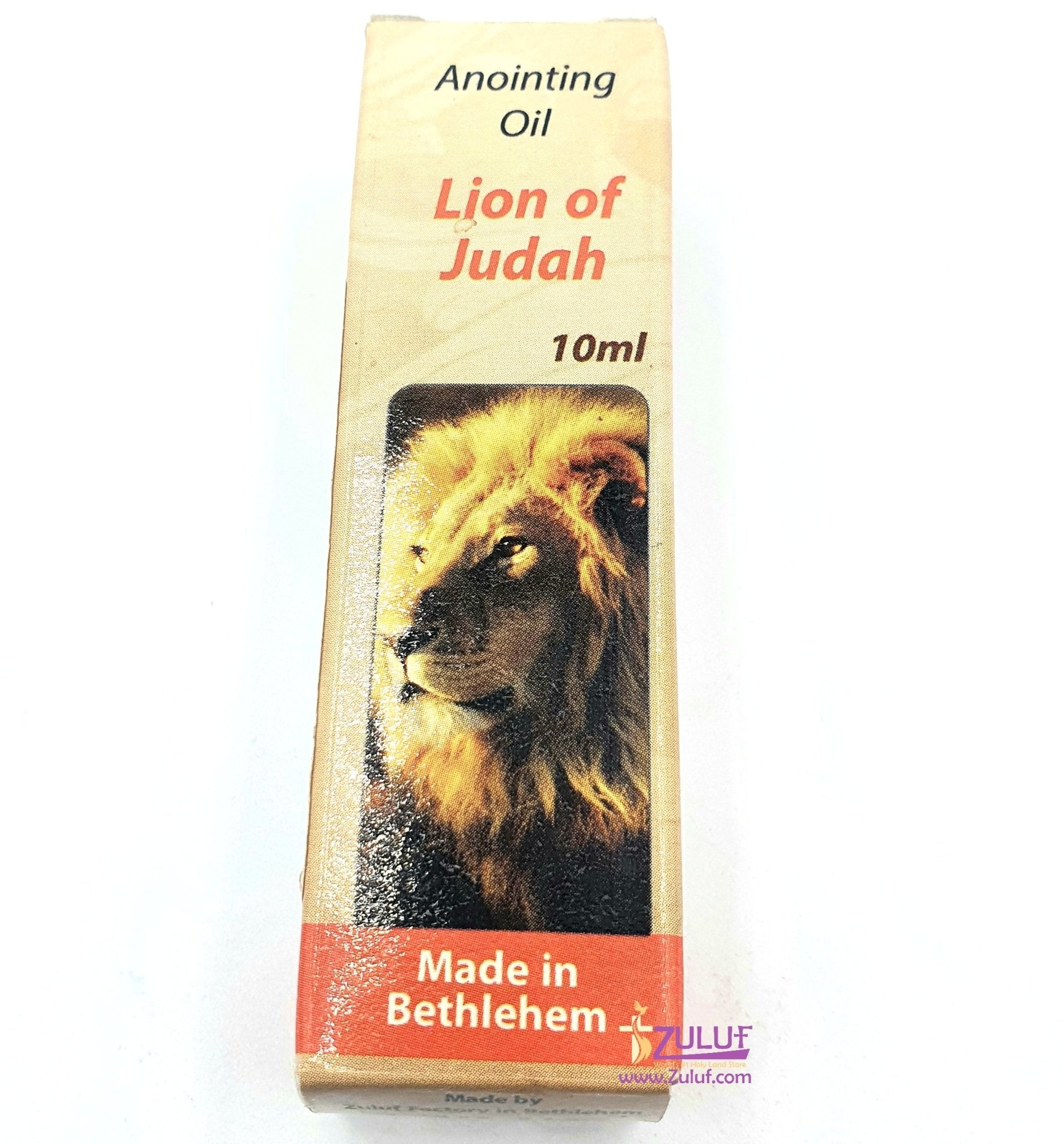 Lion of Judah Anointing Oil Zuluf - PER007 - Zuluf