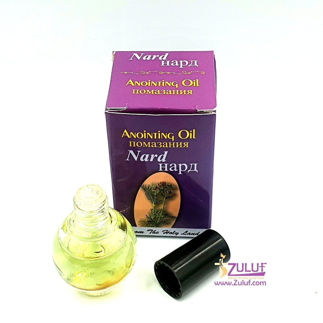 Nard Magdalena Anointing Oil Bottle Authentic Fragrance From Jerusalem by Zuluf Store NPER022 - Zuluf