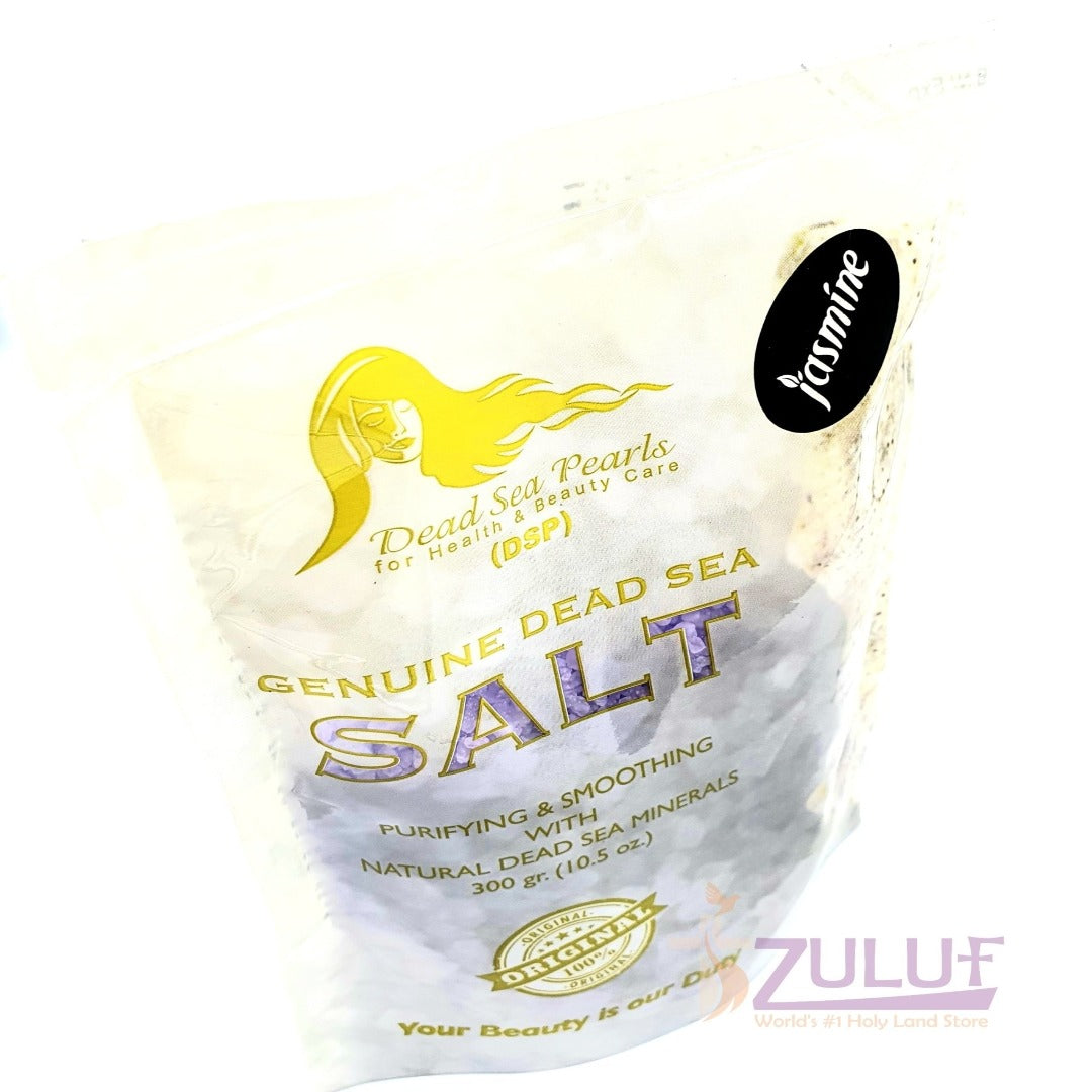 Natural Dead Sea Salt Jasmine Scent DS007 - Zuluf