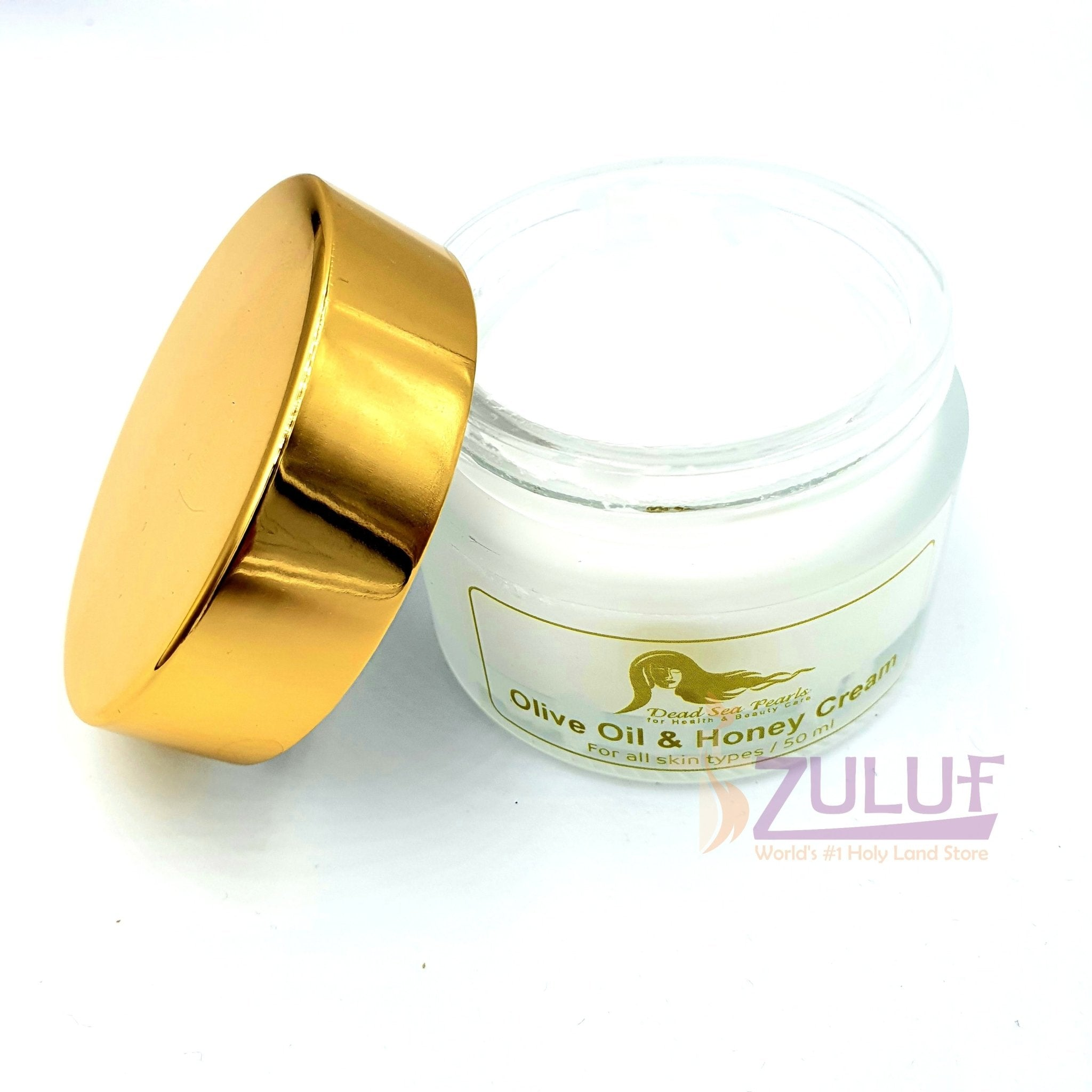Olive Oil & Honey with Dead Sea Minerals Natural Cream DS010 - Zuluf