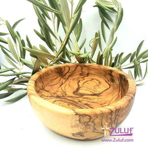 Olive wood hand garved powl KIT012 - Zuluf