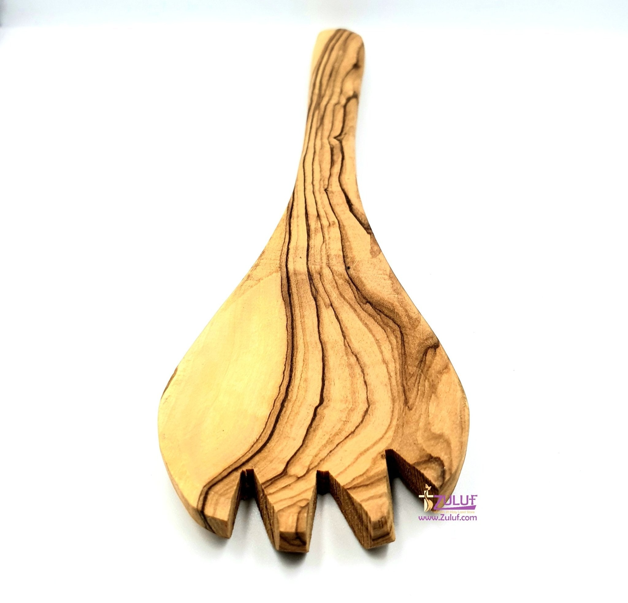 Olive wood hand made forg KIT003 - Zuluf