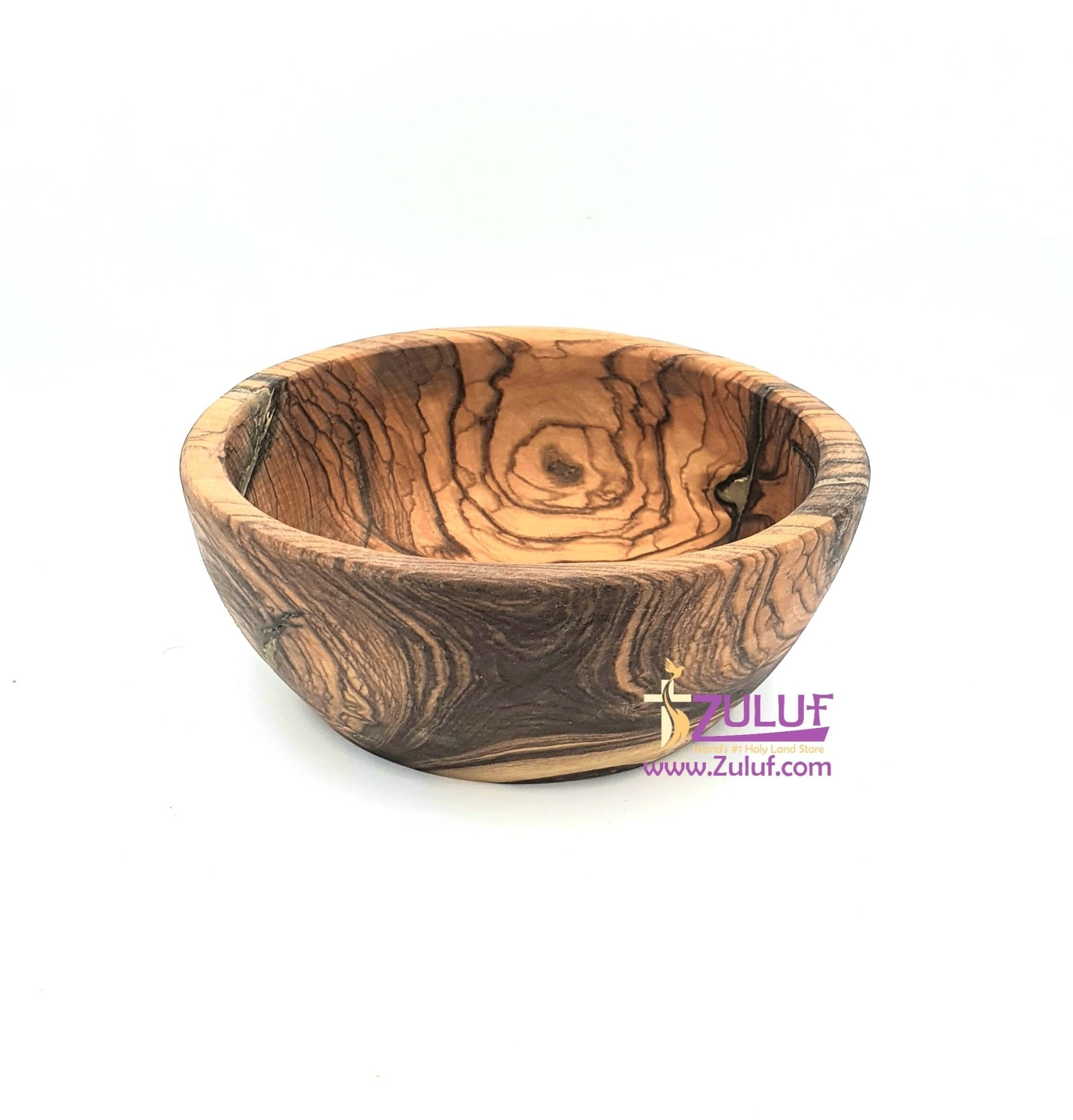 Olive wood hand made garved powl KIT011 - Zuluf