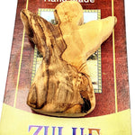 Olive wood hand made Gift HLG010 - Zuluf