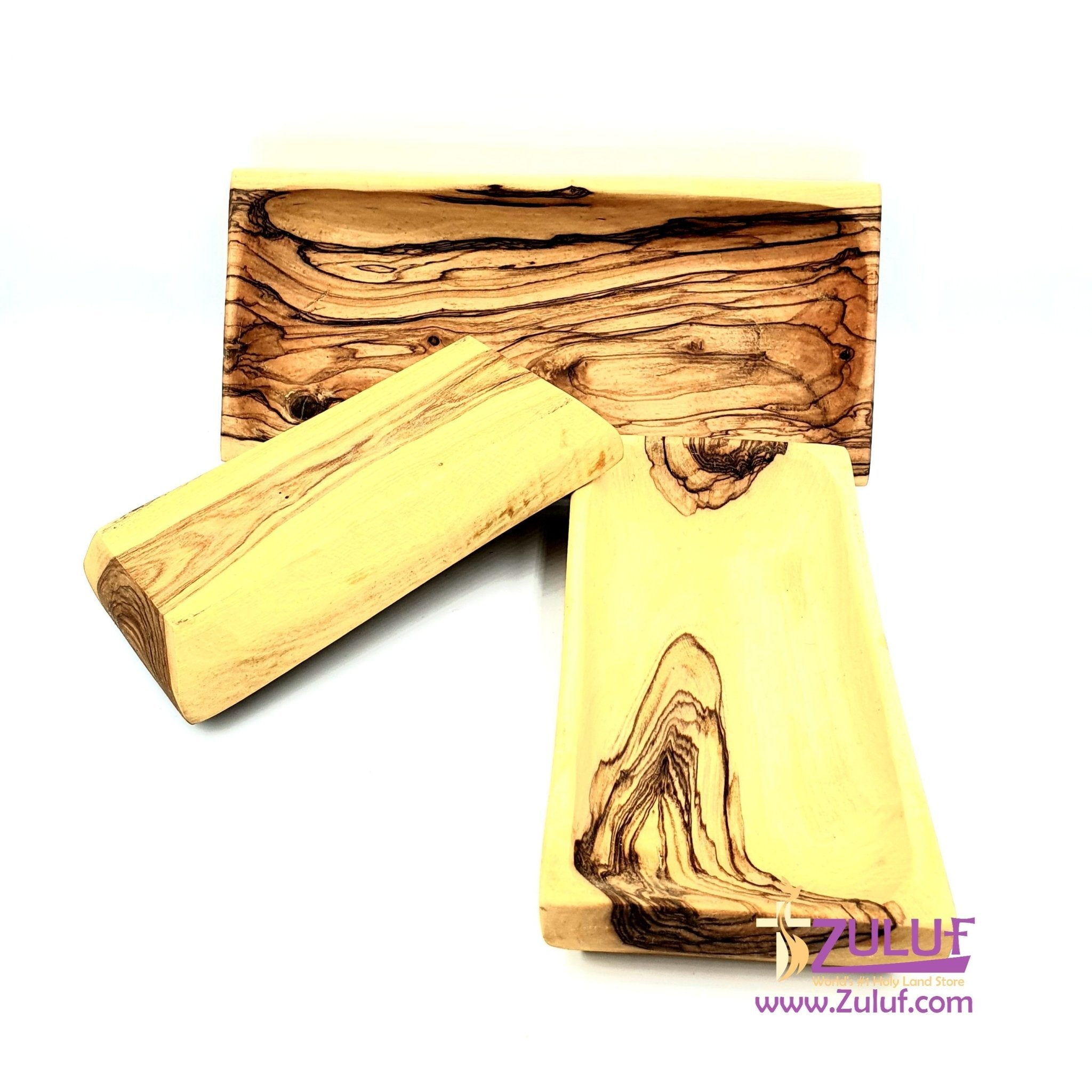 Olive wood hand made powls set of three KIT009 - Zuluf