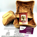 Olive wood hand made set of three squer powls KIT008 - Zuluf