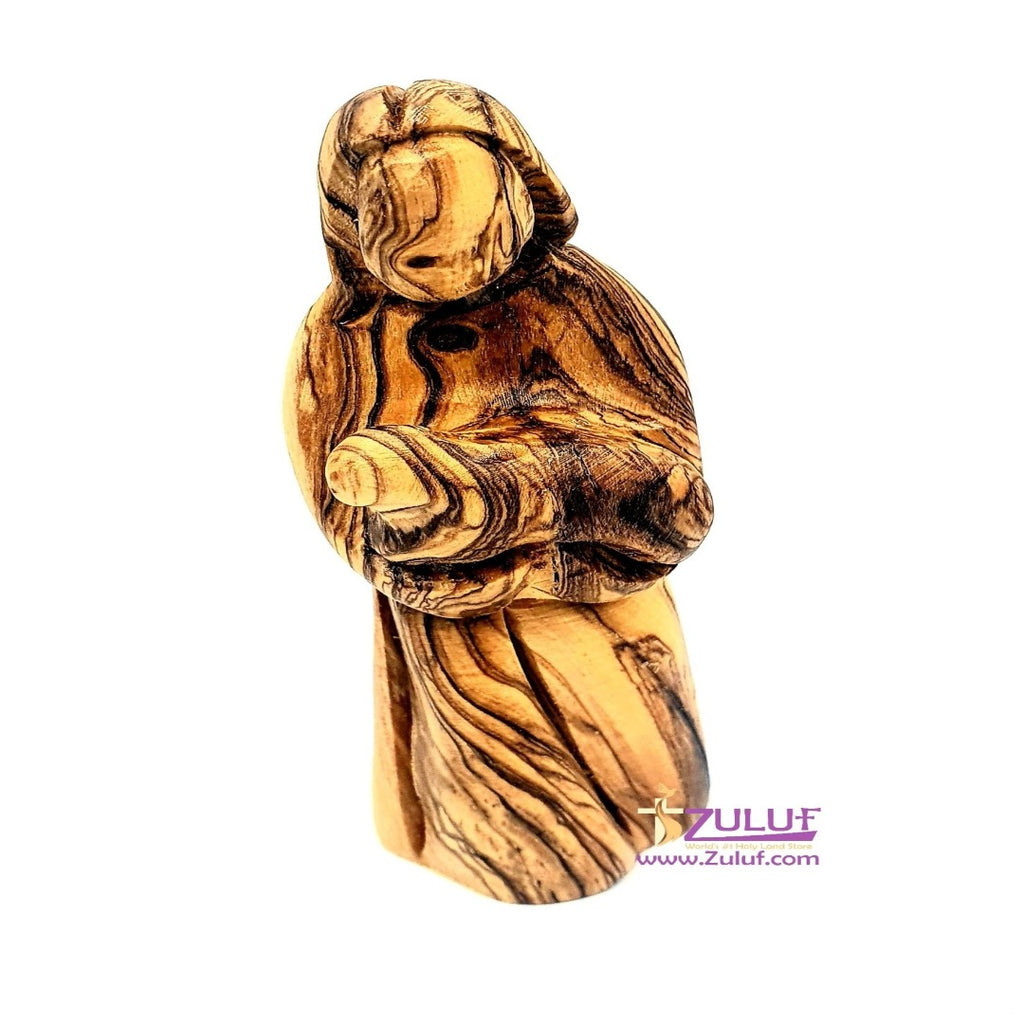 Olive wood hand made statue Shepherd FLG052 - Zuluf