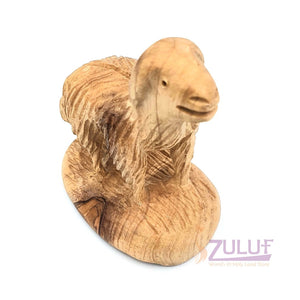 Olive wood Lamb Sheep hand made bethlehem ANI009 - Zuluf