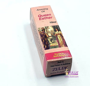 Queen Esther Anointing Oil Holy Land Zuluf - PER009 - Zuluf