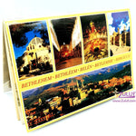 Recoder notebook to famous holy sites in bethlehem HLG001 - Zuluf