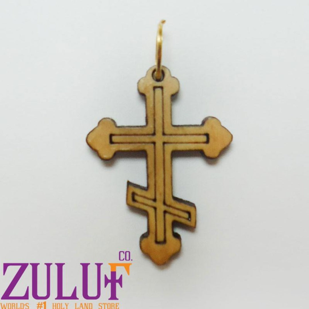 Russian Cross Pendant Zuluf Gifts - PEN069 - Zuluf