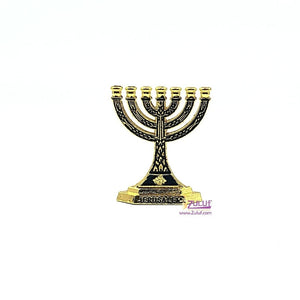 Small jewish candelstick gollden color JUD007 - Zuluf