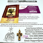 Small Olive Wood Crosses with crucifixion Pen215 - Zuluf