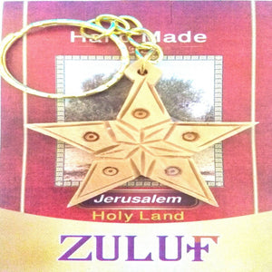 Star of Bethlehem Hand Carved Special Design - Zuluf KC107 - Zuluf