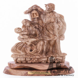 The Holy Family Large Statue Hand Carved Zuluf ® - ART020 - Zuluf