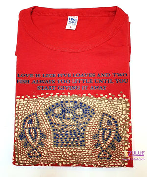 Tobaga fish Men T.shirt TSH012 - Zuluf