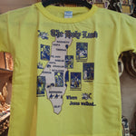 TSHo014 the holyland t shirt 2 years old - Zuluf