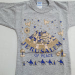 TSHo016 jerusalem of peace t shirt 2 years old - Zuluf