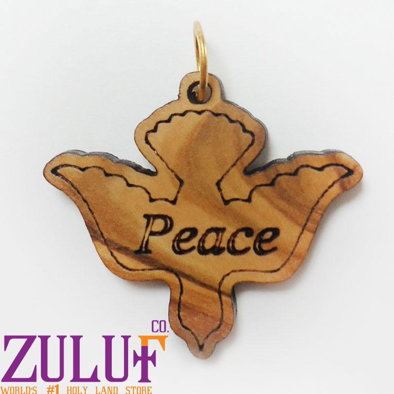 Zuluf Factory Peace Dove Pendant by Zuluf Factory - PEN087 - Zuluf