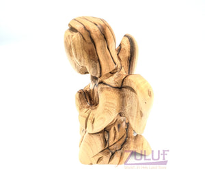 Zuluf Olive Wood Angel Religious Gifts For Dad ANG006 - Zuluf