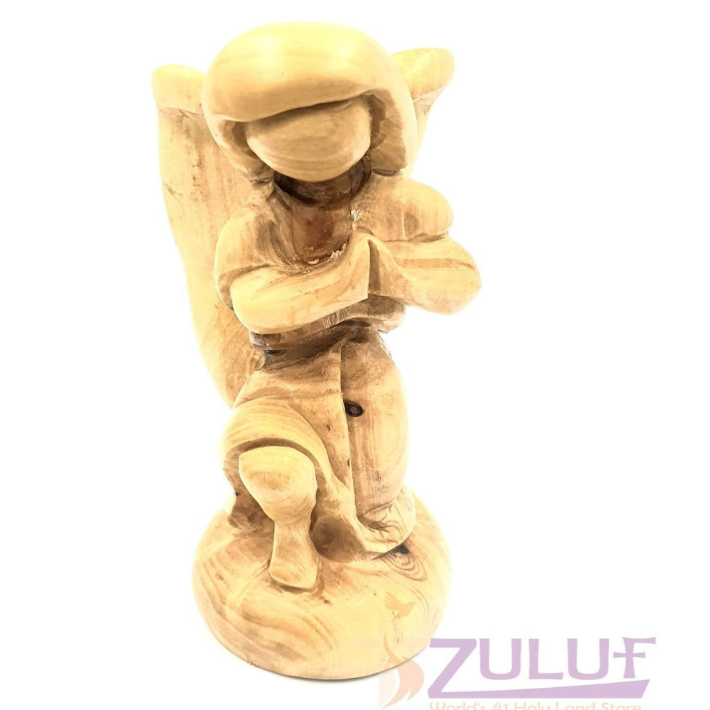 Zuluf Wooden Angel Religious Gift Store Angels Guardian ANG005 - Zuluf