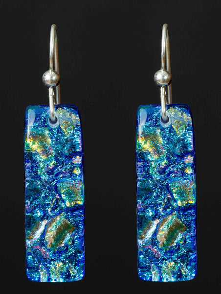 #3 Long Hanging Earrings in 15 Mosaic Colors
