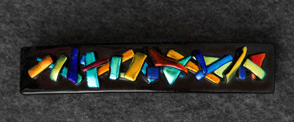BTD Dichroic Glass Barrette