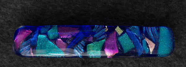 BTJ Dichroic Glass Barrette