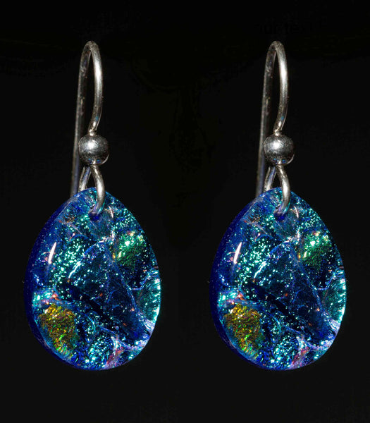 Teardrop Earrings in 15 Mosaic Colors